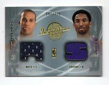 KOBE BRYANT/ R.JEFFERSON NBA 2001-02 UPPER DECK INSPIRATIONS DUAL JERSEY (LAKERS