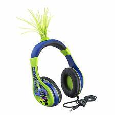 Trolls World Tour DJ Trollex Kids Headphones, Glow in The Dark, Volume Limiting