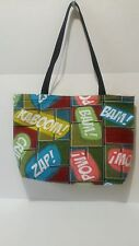 ACTION THEMED TOTE BAG