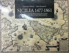(Sicilia/Cartografia) V. Valerio, S. Spagnolo - SICILIA 1477-1861 - Paparo 2014