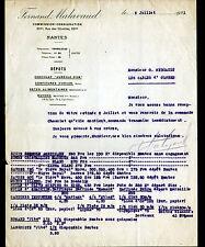 "NANTES (44) CHOCOLAT CONFITURE PATES SAVON / EPICERIE ""Fernand MALAVAUD"" en 1921"