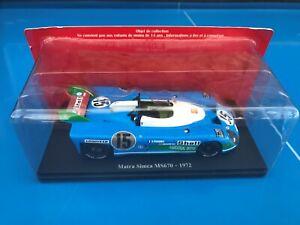 TEST N°1 HACHETTE Collection 24H 24 Heures du Mans 1/24 MATRA SIMCA MS670 1972
