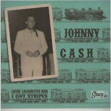 45 SP Johnny Cash - Lovin' Locomotive man - I got Stripes - Sleazy Records - NEW
