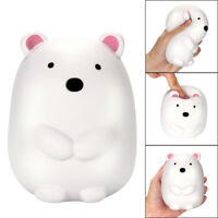 Jumbo Cute Polar Bear Cream Scented Squishy Slow Rising Stress Relief Toys