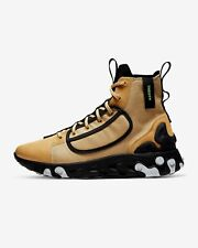 Nike reaccionar Zapatillas para hombre Talla 11 Dorado Negro Botas 10th Edición Nuevo BNWB