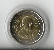 2 euro commemorativi Italia 2010 - Camillo Benso Conte di Cavour