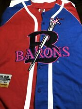 Vintage Collectible Birningham Barrons Negro League Baseball Jersey Size Large