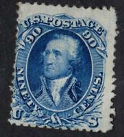 ETATS UNIS  N°:26 a WITH GRID IN RELIEF SIGNED BY EXPERT year 1861 CV :10 000 €