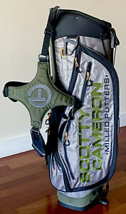 """SCOTTY CAMERON 2020 MASTERS Circle T TOUR Pathfinder STAND BAG """"Brand New/Mint"""""""