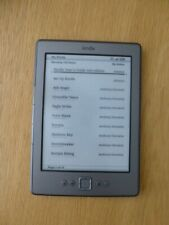 amazon kindle 4th generation model D01100 bundled with case & charger
