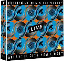 Rolling Stones - Steel Wheels Live, Atlantic City New Jersey (NEW 2CD,DVD)