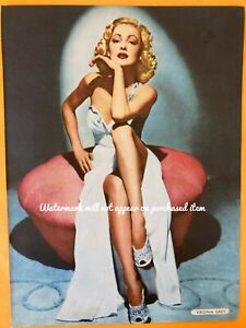 Vintage 40s Magazine Picture VIRGINIA GREY  8x10 print film star actress pin up