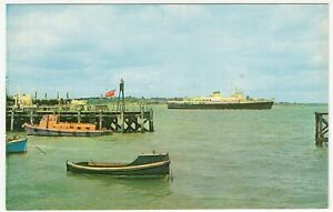 """Shipping; The """"Hock Van Holland"""" Passing Dovercourt PPC c 1960's, Unposted"""