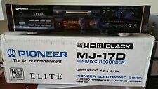 Mint Boxed Pioneer Elite MJ-17D Minidisc Recorder MJ17D * MAKE OFFER *