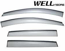 For 13-UP Ford Escape WellVisors Side Window Visors W/ Black Trim