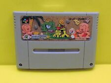 Super PC Genjin Kid SUPER BONK SUPER FAMICOM SNES - GAME CARTRIDGE ONLY