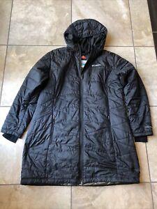 Women's Columbia Black Coat- size 1X