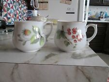 Set Of 2 Andrea by Sadek Cups+Art Decor~ [#6693] Made In Japan