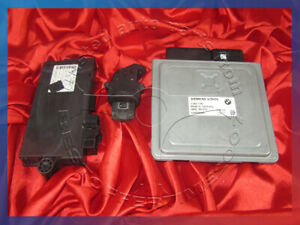 BMW E90 E60 3 5'ies 2.5i 3.0i N52 ENGINE ECU SET MODULE DME MSV70 CAS3 KEY LOCK