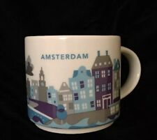 Starbucks Amsterdam YAH Mug Houses Canal Netherlands Coffee Cup You Are Here New