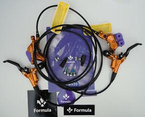 Formula - Brake set CURA 4/CURA4 2021 Gold ready to use front+rear FD94175-4G