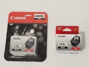 2 Pack Genuine Canon PG-240XL Black Ink Cartridge  - NEW / SEALED