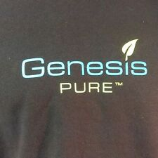 Genesis Pure Hoodie Sweatshirt 2XL XXL Black Ships Free