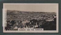 Dunedin And Harbor Otago Province New Zealand Pacific Oceana 1920s Trade Ad Card