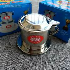 Stainless steel coffee filter cup pressed coffee drip pot / filter cup
