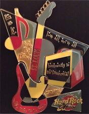 Hard Rock Cafe ST. LOUIS 2001 RETRO Jigsaw Puzzle 5 PIN Set - HRC 30th #8907