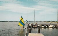"*Delaware Postcard-""Sailing on Beautiful Rehoboth Bay"" - (U1-9)"