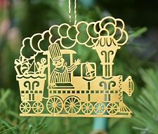 Toyland Brass Ornament