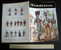 "Vintage 1970s ""Tradition"" #60 Superb Model Soldier & Military History Magazine"