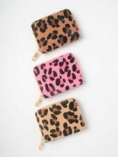 Leopard Print Animal Purse Wallet Card Coin Purse Accessories