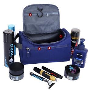 Men/Women Waterproof Travel Toiletry Organizer Grooming Cosmetic Case Wash Bag