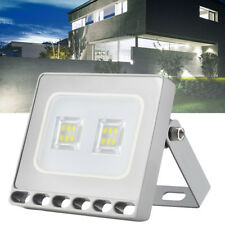10W LED Floodlight LEMBRD Garden Lighting Outdoor Seucrity Lights Cool White