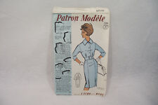 Ancien PATRON Modèle 1960 ROBE n°73026 Taille 42-44-46 L'ECHO de la MODE