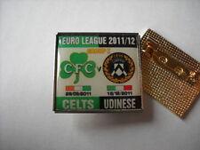 a1 UDINESE - CELTIC cup uefa europa league 2012 spilla football calcio pins
