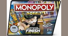 Speed Monopoly Board Game 2018 **Choose Your Pieces**  NEW!
