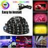 USB 1M-5M RGB LED Strip Light Music Sync Bluetooth APP Control TV PC Back Light