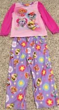 Nickelodeon Paw Patrol Girls Pajamas Set Top Pants Pink Purple 4T Skye Everest