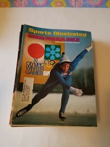 Annie Henning & Sapporo Olympics -Sports illustrated d 1/31/1972