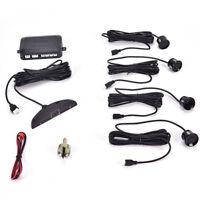 4 Parking Sensors LED Display Car Backup Reverse Radar System Warn Alarm Kit TS