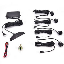 4 Parking Sensors Led Display Car Backup Reverse Radar System Warn Alarm Kit ^P