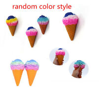 Jumbo Colossal Squishy Rainbow Ice Cream Scented Super Slow Rising Food Kid Toy