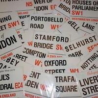 Souvenir,Vintage Style  Metal  London Street Road Sign England UK Gift