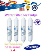 4 X SAMSUNG FRIDGE WATER FILTER REPLACEMENT CARTRIDGES DA29-10105J