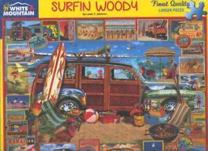 Lewis T. Johnson White Mountain Jigsaw Puzzle Surfin Woody NIB