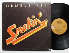 """Humble Pie Steve Marriott Original A&M LP 1972 """"Smokin'"""""""