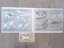 "SA.330 PUMA/CESSNA-172/SF.260W/VAMPIRE/GAZELLE ""IRISH ARMY"" SAM DECALS 1/72"